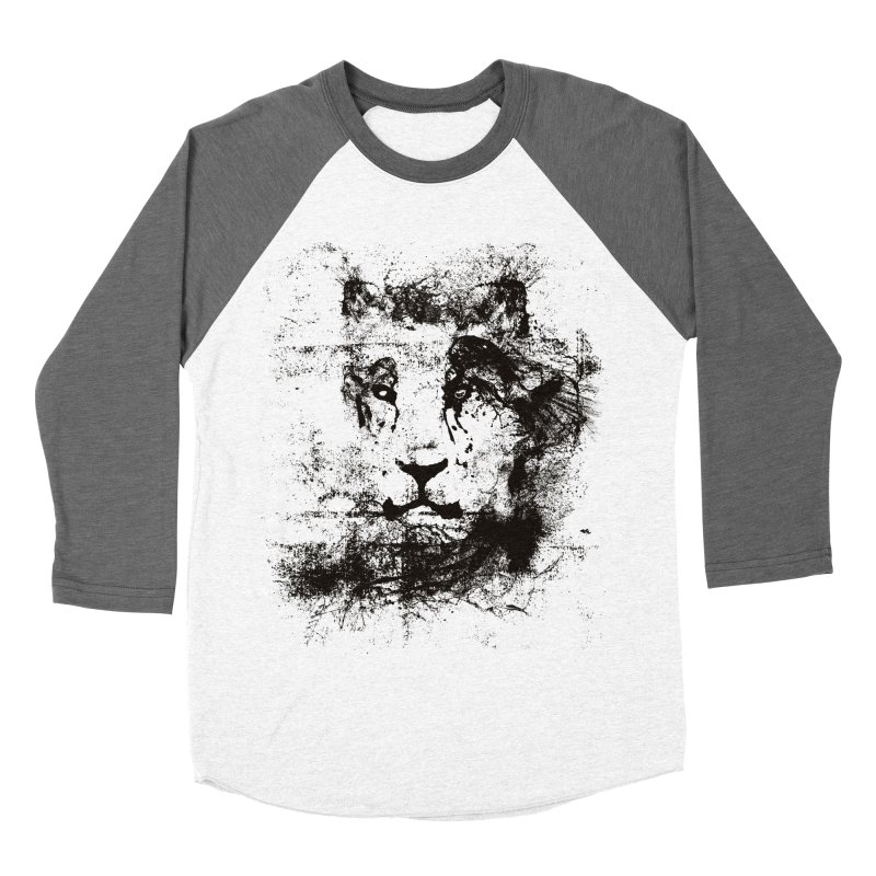 Ink Lion | On Sale!  ➔ Women's Baseball Triblend Longsleeve T-Shirt by The Mindful Tee