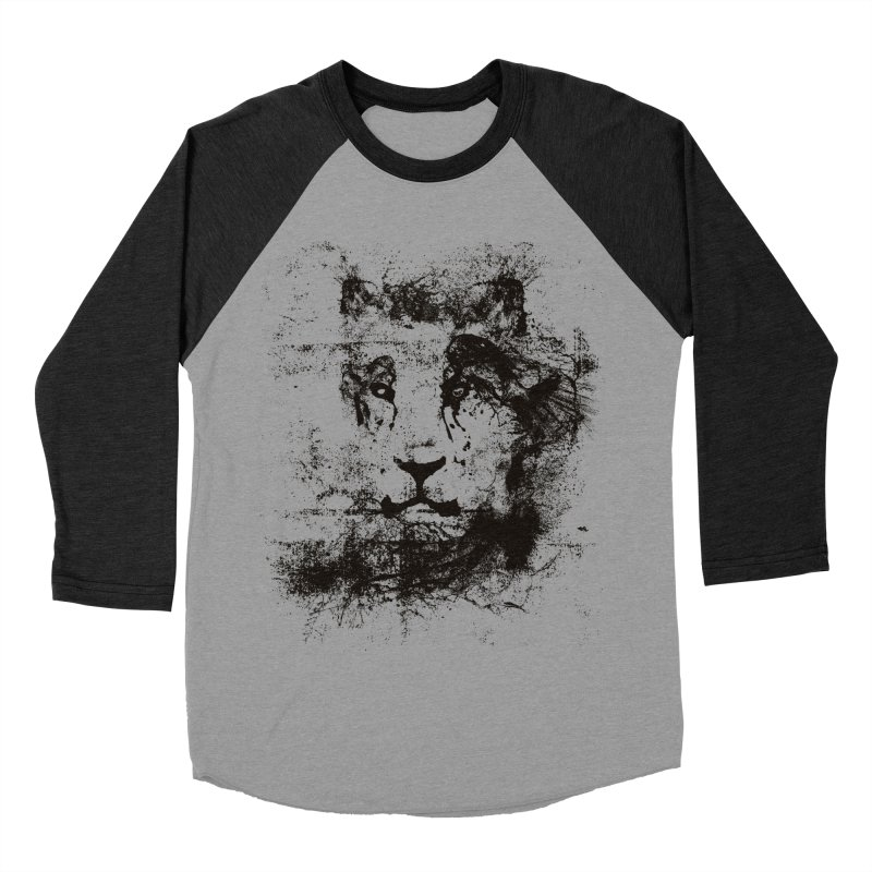 Ink Lion | On Sale!  ➔ Men's Baseball Triblend Longsleeve T-Shirt by The Mindful Tee