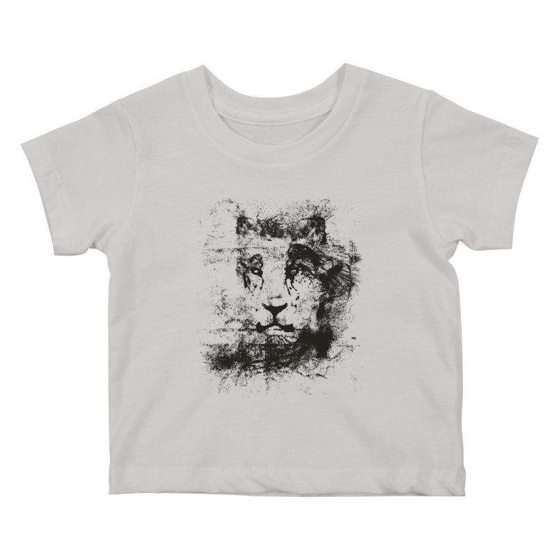 Ink Lion | On Sale!  ➔ Kids Baby T-Shirt by The Mindful Tee