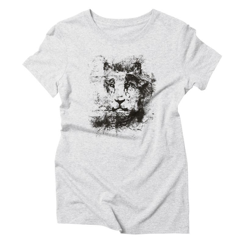 Ink Lion | On Sale!  ➔ Women's Triblend T-Shirt by The Mindful Tee