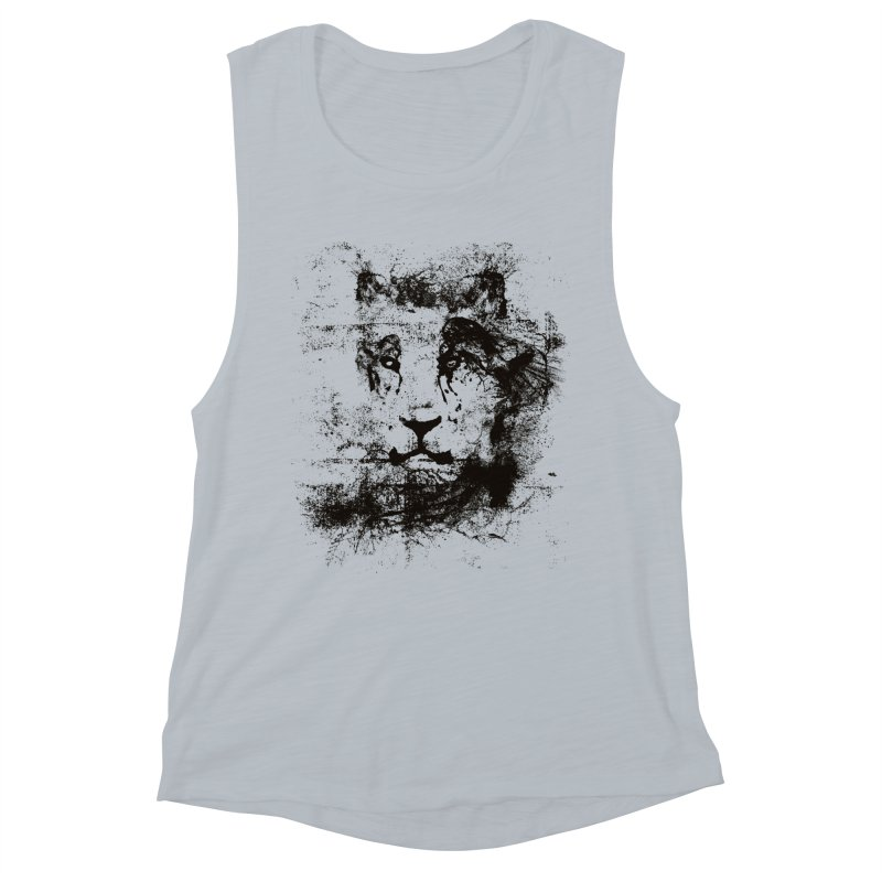 Ink Lion | On Sale!  ➔ Women's Muscle Tank by The Mindful Tee