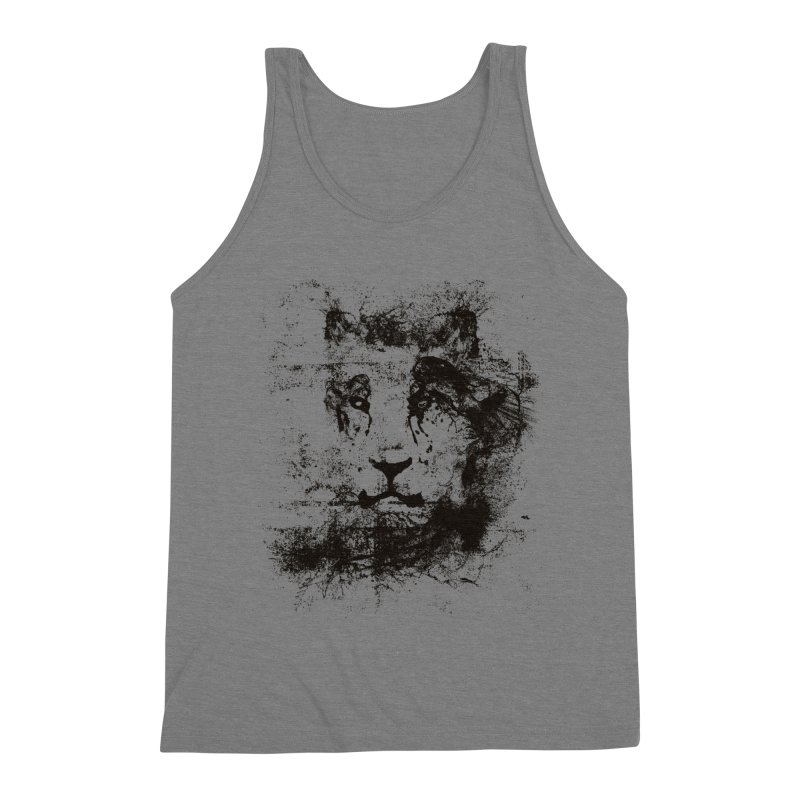 Ink Lion | On Sale!  ➔ Men's Triblend Tank by The Mindful Tee
