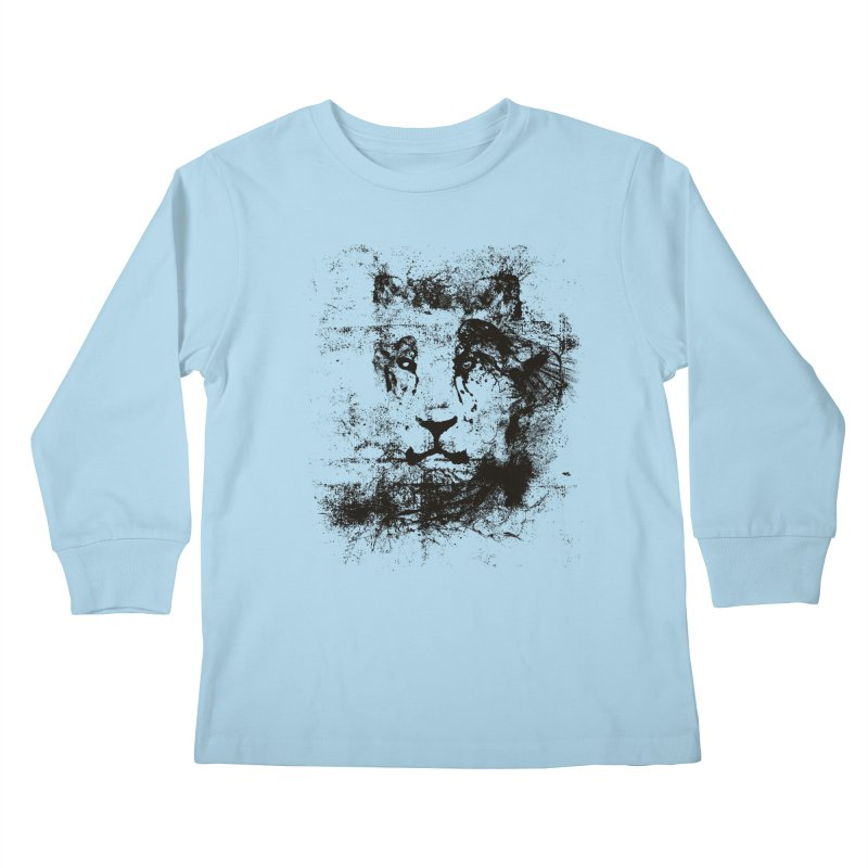 Ink Lion | On Sale!  ➔ Kids Longsleeve T-Shirt by The Mindful Tee