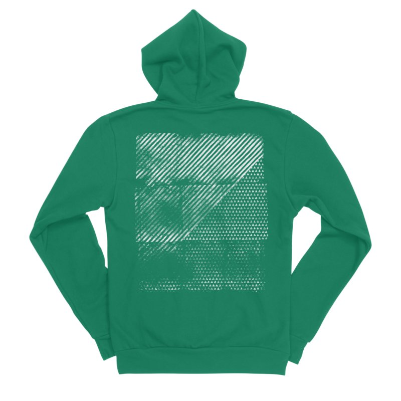 Pattern #1 Men's Sponge Fleece Zip-Up Hoody by The Mindful Tee
