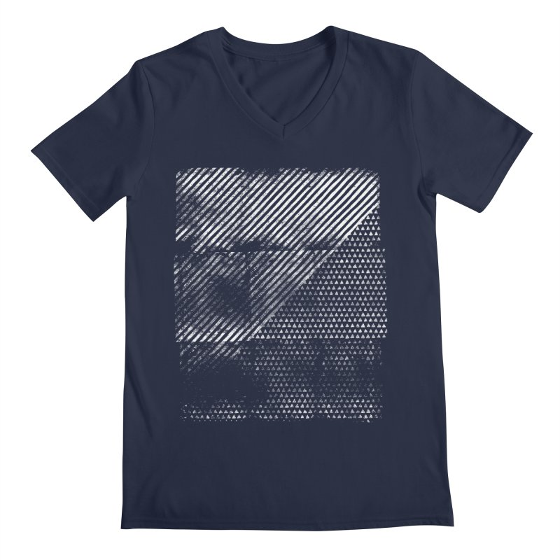 Pattern #1 Men's V-Neck by The Mindful Tee
