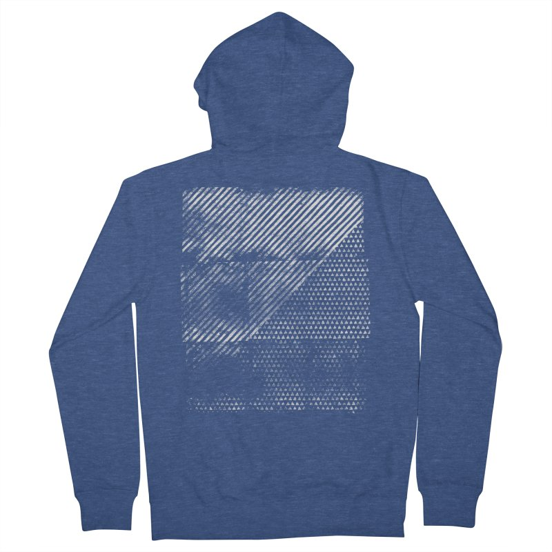 Pattern #1 Women's French Terry Zip-Up Hoody by The Mindful Tee