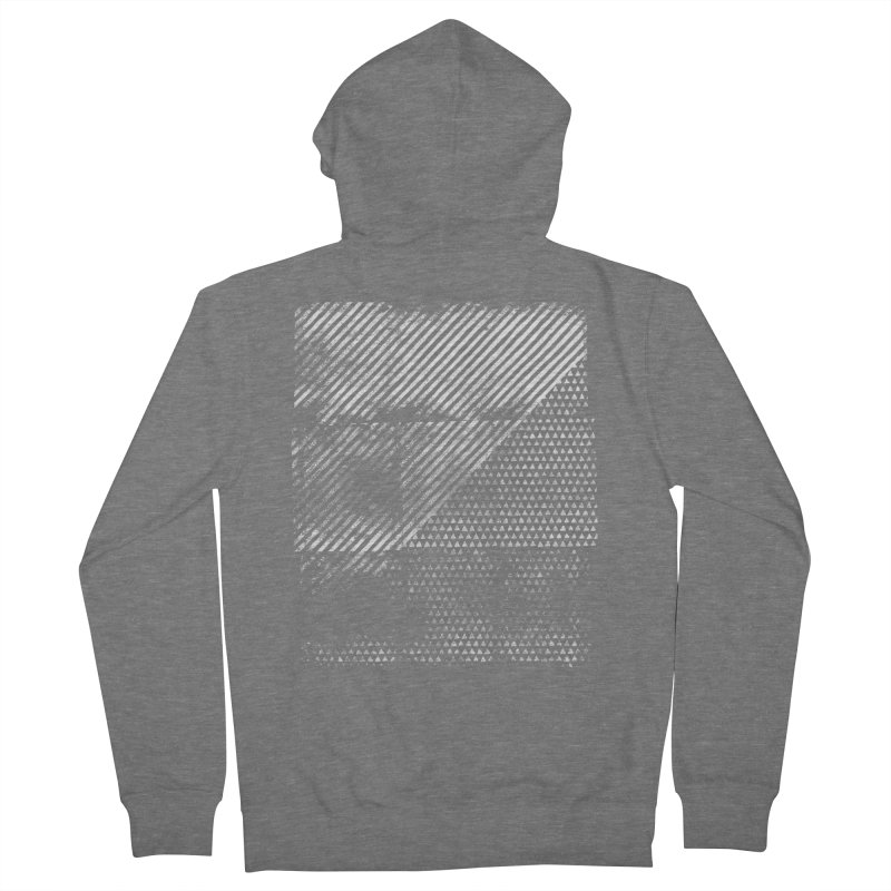 Pattern #1 Men's French Terry Zip-Up Hoody by The Mindful Tee