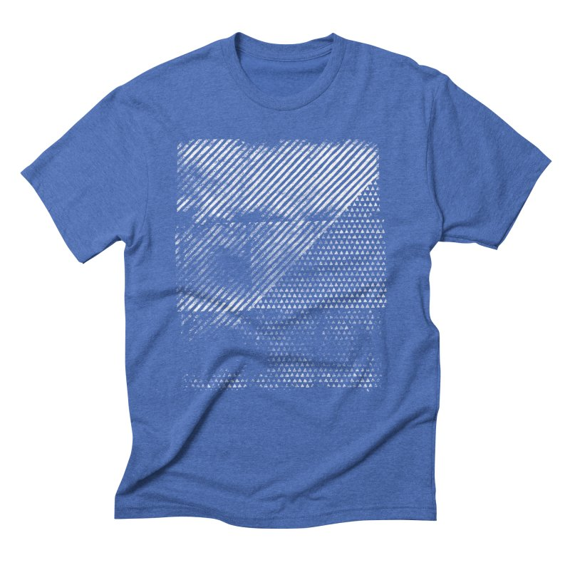 Pattern #1 Men's Triblend T-Shirt by The Mindful Tee