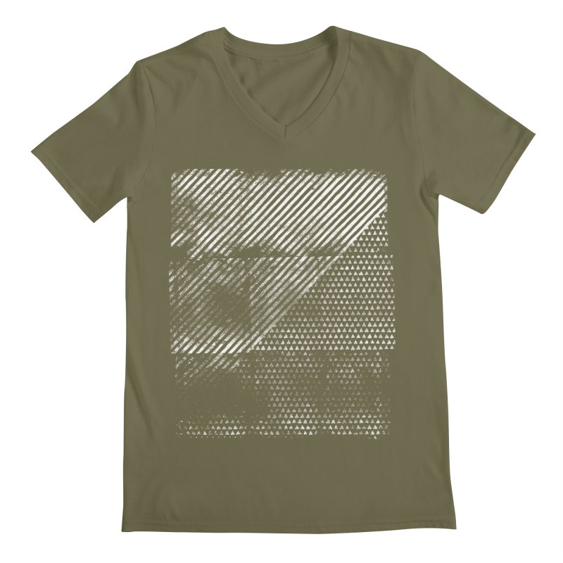 Pattern #1 Men's Regular V-Neck by The Mindful Tee