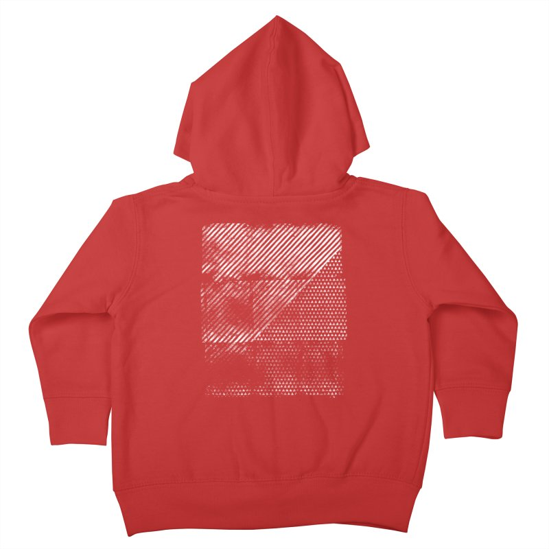 Pattern #1 Kids Toddler Zip-Up Hoody by The Mindful Tee