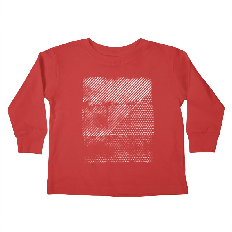 Pattern #1 Kids Toddler Longsleeve T-Shirt by The Mindful Tee