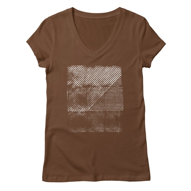 Pattern #1 Women's Regular V-Neck by The Mindful Tee