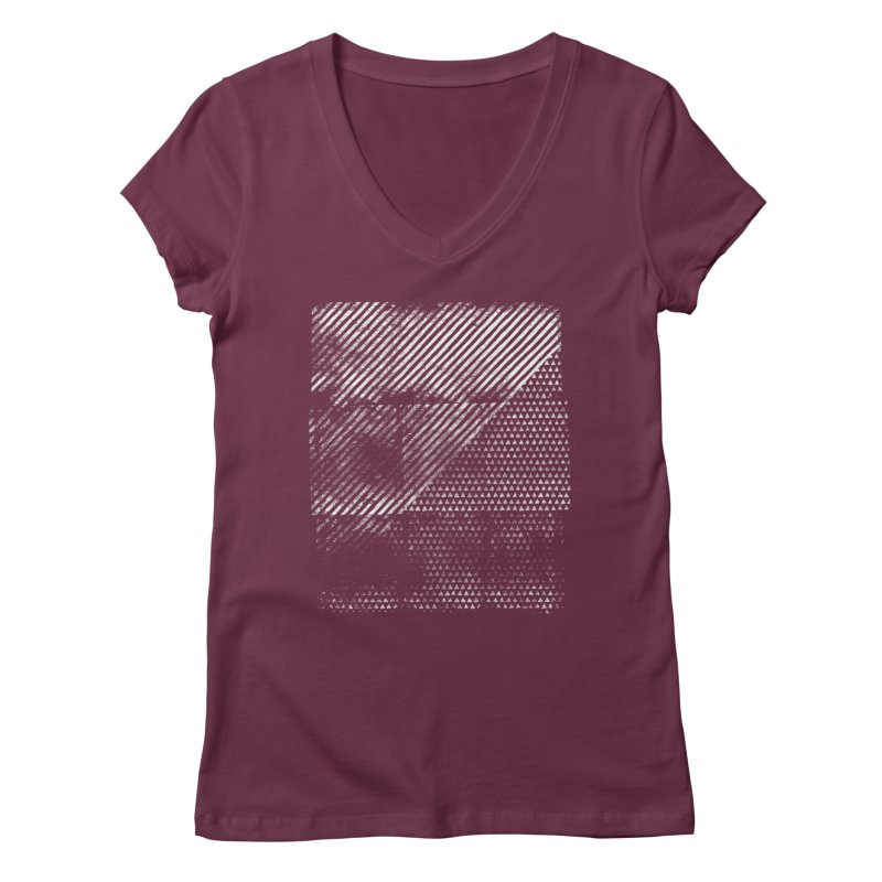 Pattern #1 Women's V-Neck by The Mindful Tee