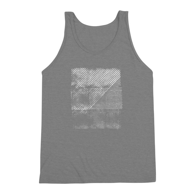 Pattern #1 Men's Triblend Tank by The Mindful Tee