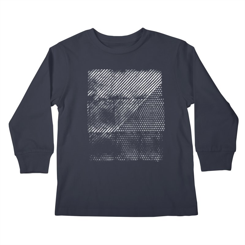 Pattern #1 Kids Longsleeve T-Shirt by The Mindful Tee
