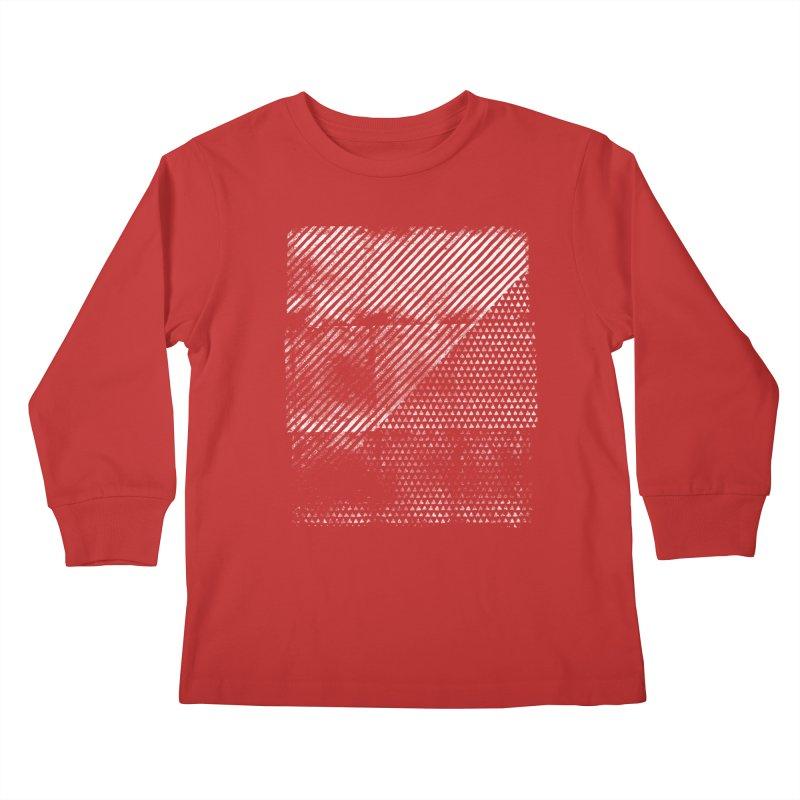 Pattern #1 Kids Longsleeve T-Shirt by The Mindful Tee