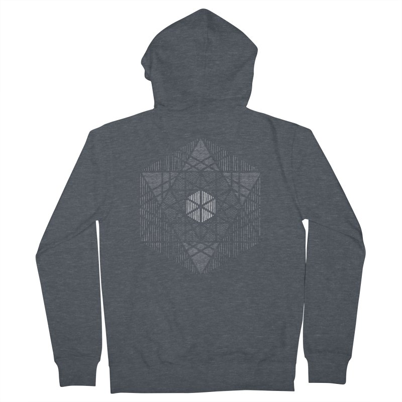 Yoga Geometry Abstraction Women's Zip-Up Hoody by The Mindful Tee