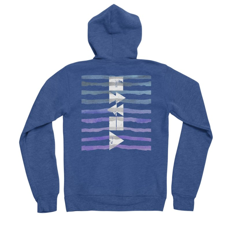 Stop, Pause... and Play Women's Sponge Fleece Zip-Up Hoody by The Mindful Tee