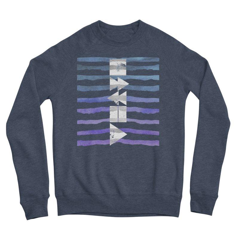 Stop, Pause... and Play Men's Sponge Fleece Sweatshirt by The Mindful Tee