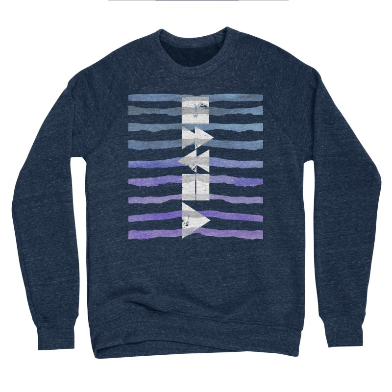 Stop, Pause... and Play Men's Sponge Fleece Sweatshirt by The Mindful Tee