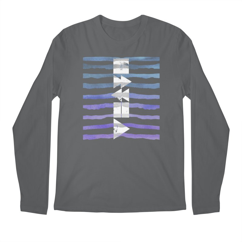 Stop, Pause... and Play Men's Longsleeve T-Shirt by The Mindful Tee