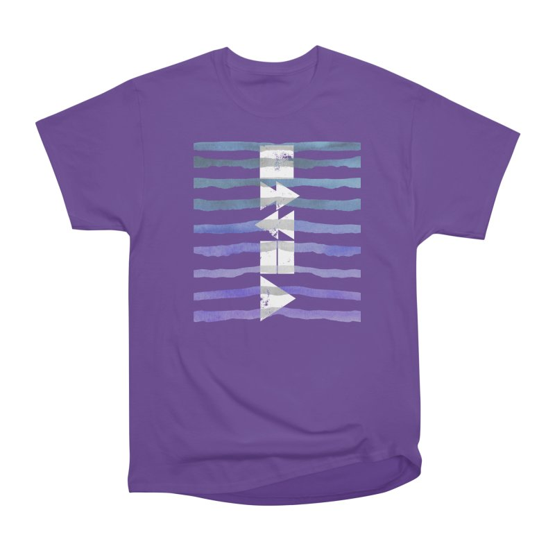Stop, Pause... and Play Women's Heavyweight Unisex T-Shirt by The Mindful Tee