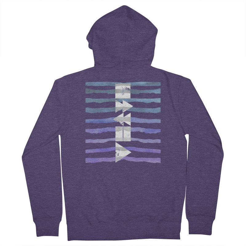 Stop, Pause... and Play Men's Zip-Up Hoody by The Mindful Tee
