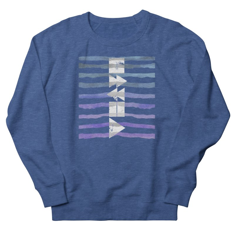 Stop, Pause... and Play Women's French Terry Sweatshirt by The Mindful Tee