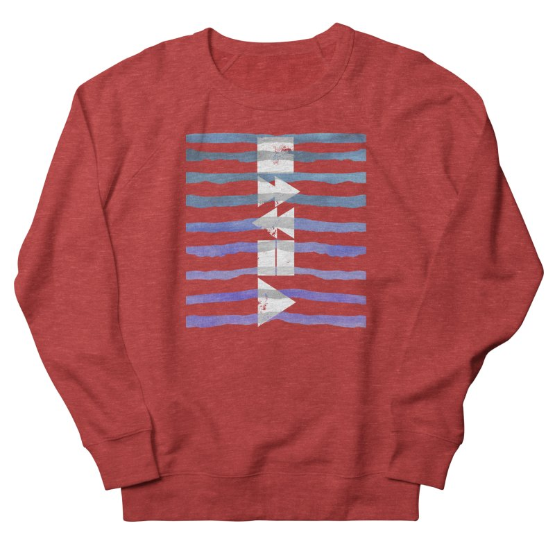 Stop, Pause... and Play Men's French Terry Sweatshirt by The Mindful Tee