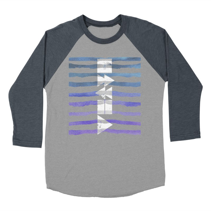 Stop, Pause... and Play Women's Baseball Triblend Longsleeve T-Shirt by The Mindful Tee