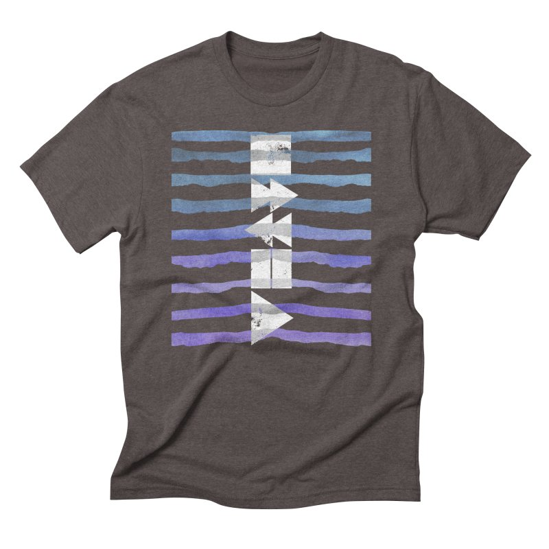 Stop, Pause... and Play Men's Triblend T-shirt by The Mindful Tee