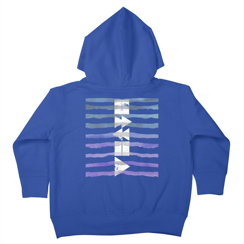 Stop, Pause... and Play Kids Toddler Zip-Up Hoody by The Mindful Tee