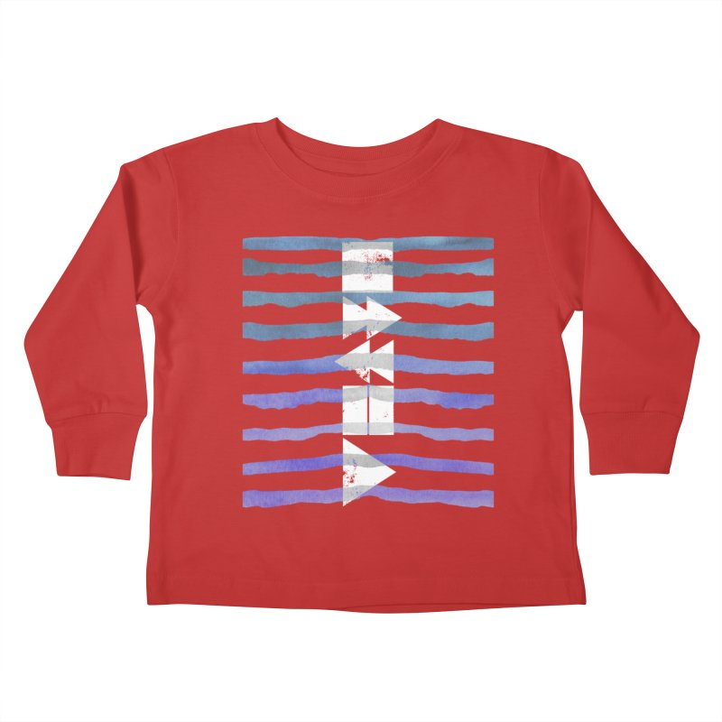 Stop, Pause... and Play Kids Toddler Longsleeve T-Shirt by The Mindful Tee