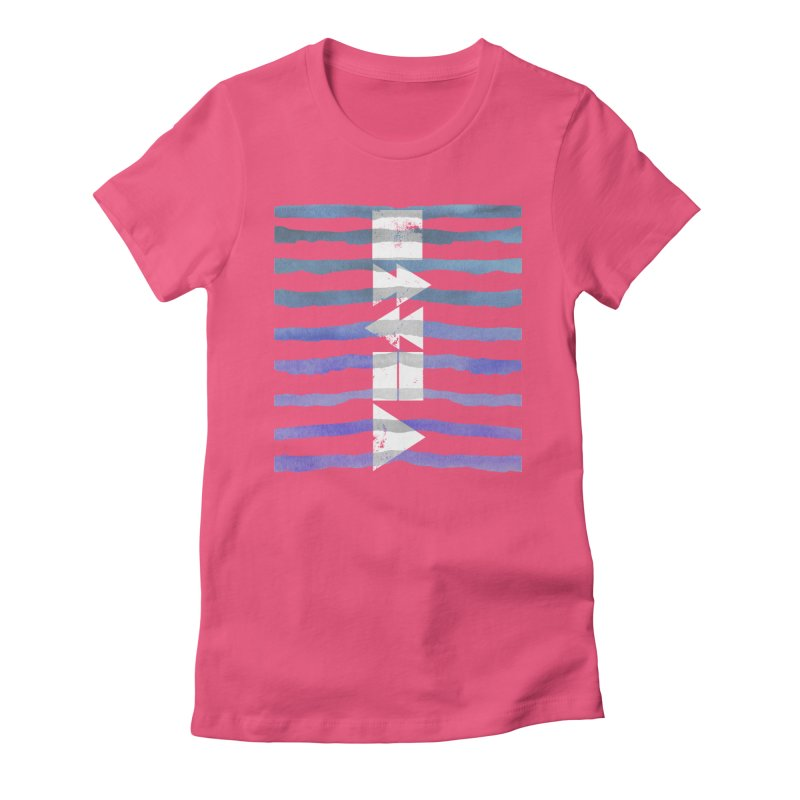 Stop, Pause... and Play Women's Fitted T-Shirt by The Mindful Tee