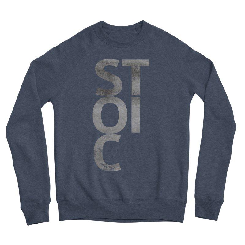 Stoic Philosophy All Type T-shirt Men's Sponge Fleece Sweatshirt by The Mindful Tee