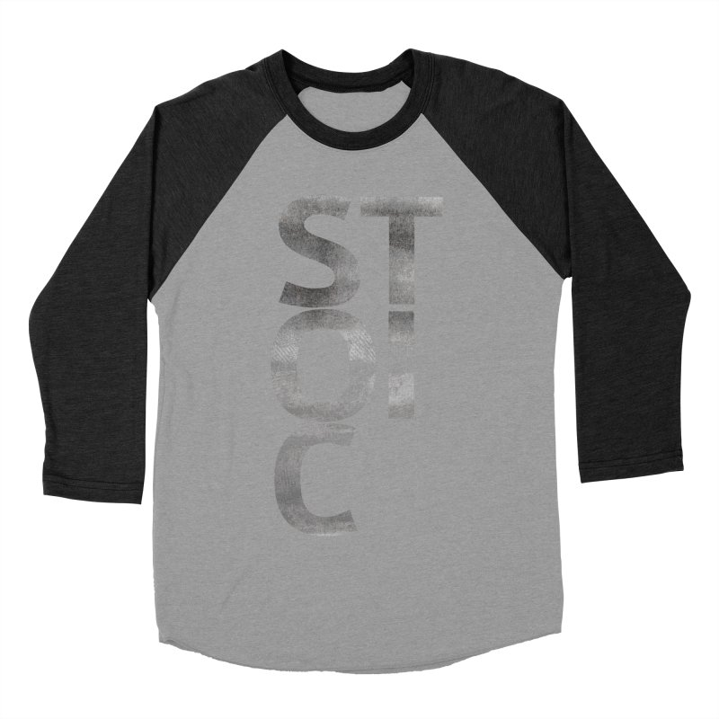 Stoic Philosophy All Type T-shirt Women's Baseball Triblend Longsleeve T-Shirt by The Mindful Tee