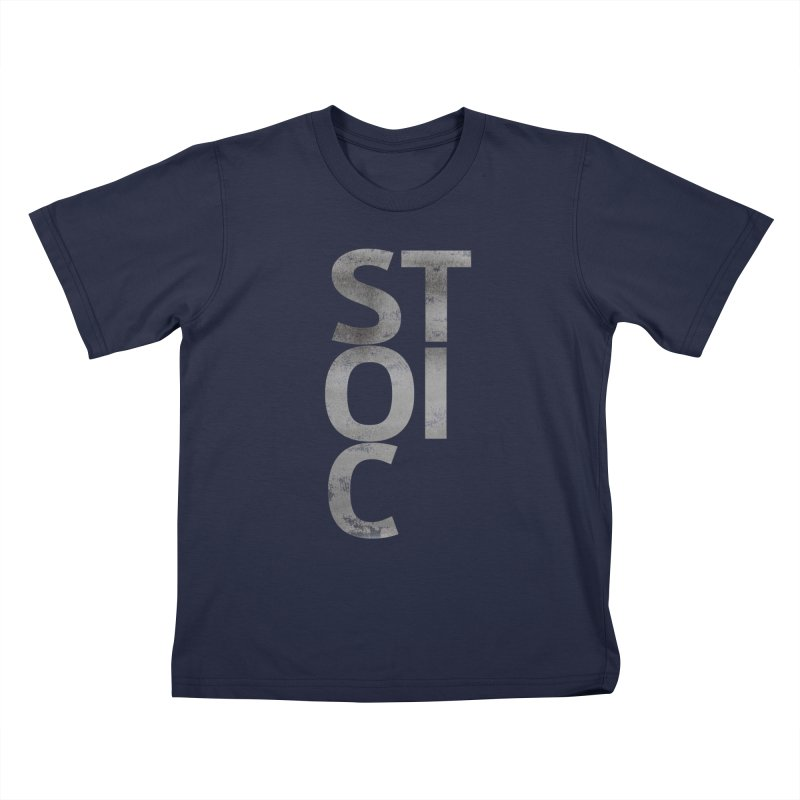 Stoic Philosophy All Type T-shirt Kids T-Shirt by The Mindful Tee