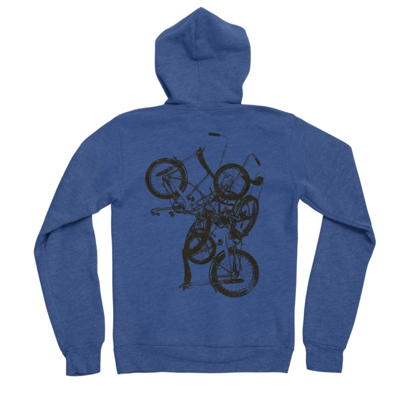 Bike Chaos | On Sale!   ➔ Women's Sponge Fleece Zip-Up Hoody by The Mindful Tee