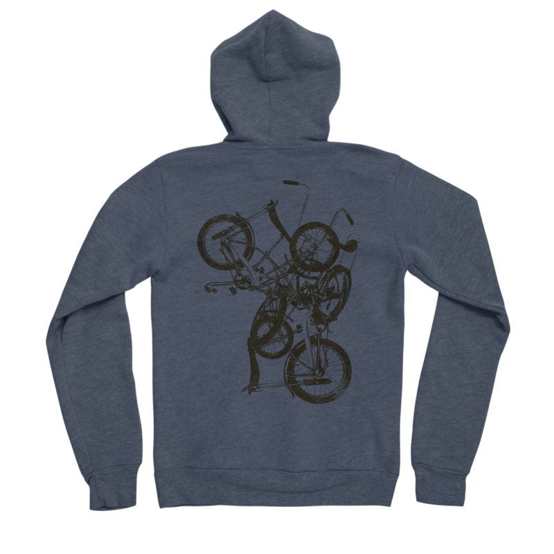 Bike Chaos   On Sale!   ➔ Women's Zip-Up Hoody by The Mindful Tee