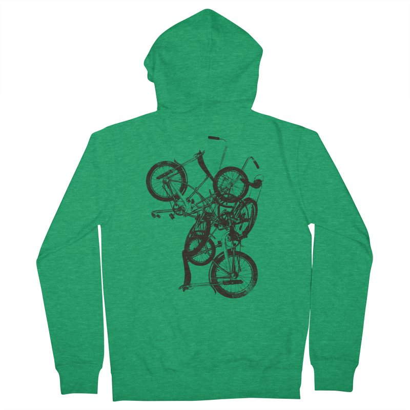 Bike Chaos | On Sale!   ➔ Men's Zip-Up Hoody by The Mindful Tee