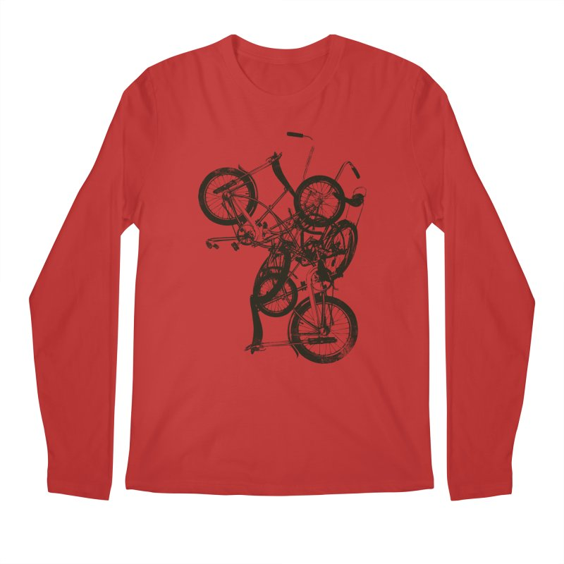 Bike Chaos | On Sale!   ➔ Men's Longsleeve T-Shirt by The Mindful Tee