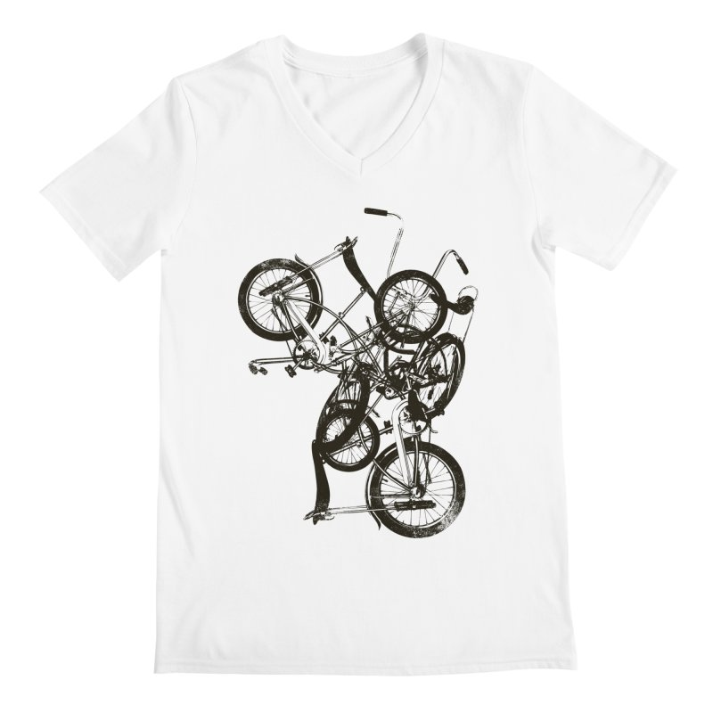 Bike Chaos | On Sale!   ➔ Men's V-Neck by The Mindful Tee