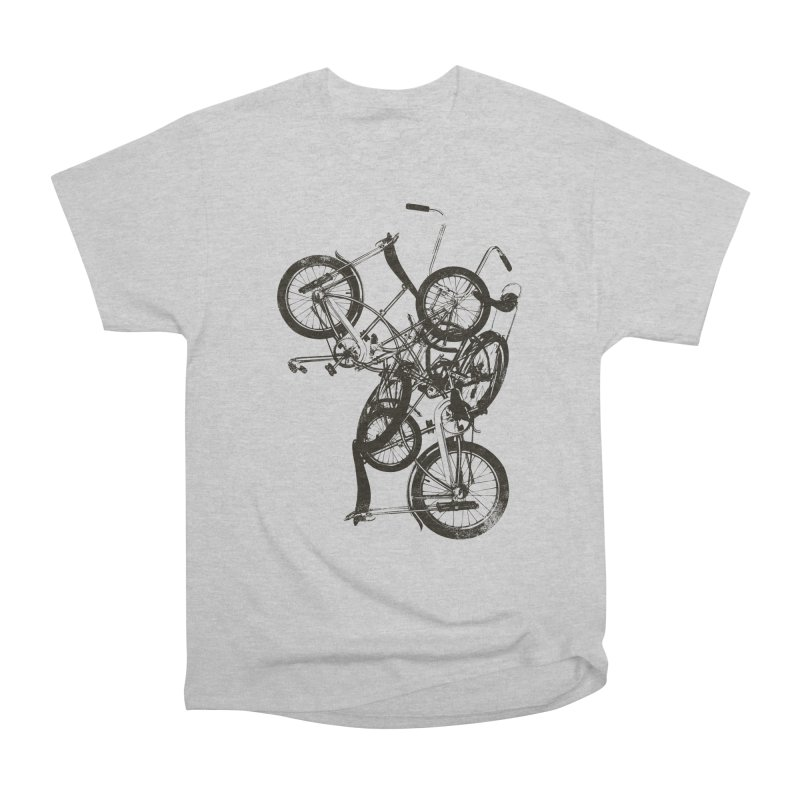 Bike Chaos | On Sale!   ➔ in Men's Classic T-Shirt Heather Grey by The Mindful Tee