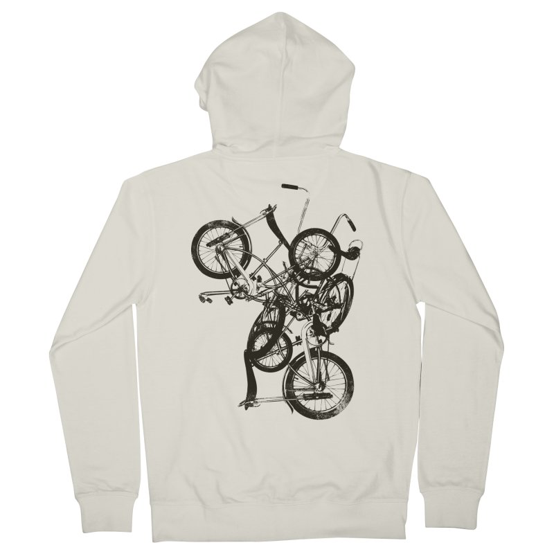 Bike Chaos | On Sale!   ➔ Women's French Terry Zip-Up Hoody by The Mindful Tee