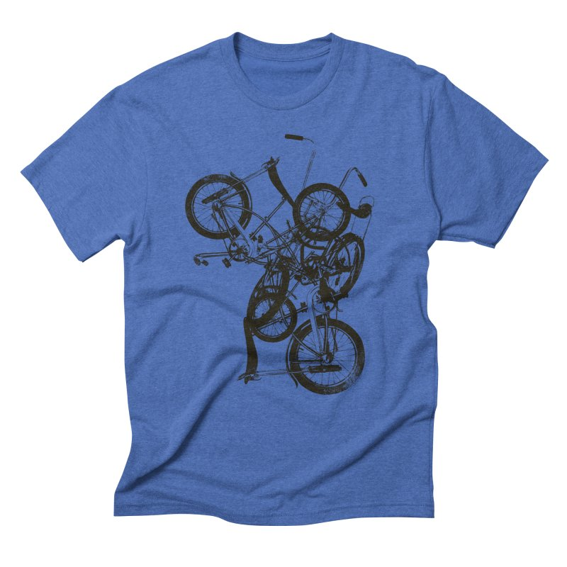 Bike Chaos | On Sale!   ➔ Men's Triblend T-Shirt by The Mindful Tee