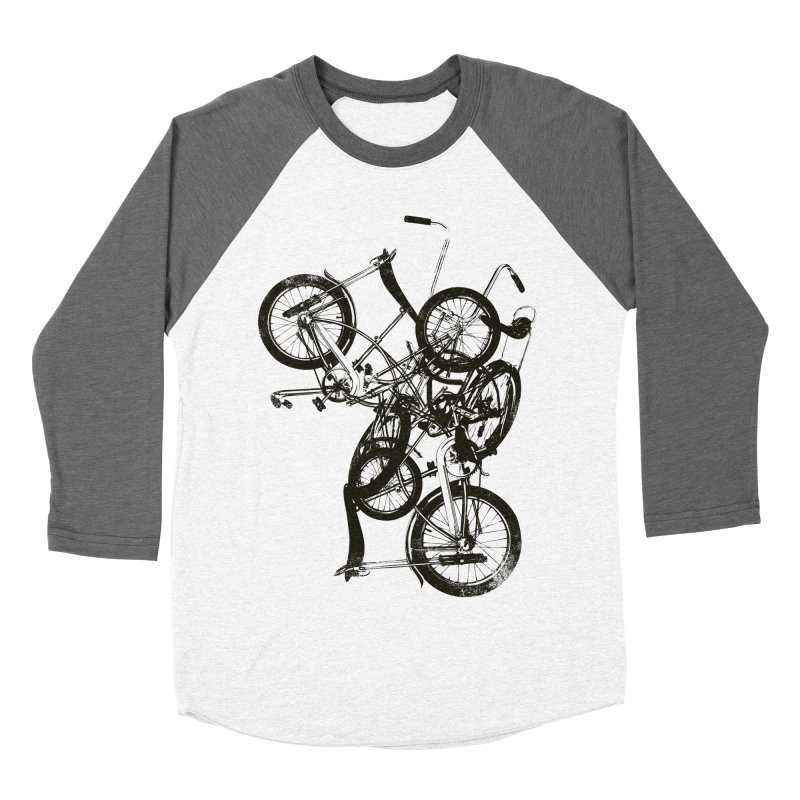 Bike Chaos | On Sale!   ➔ Men's Baseball Triblend T-Shirt by The Mindful Tee