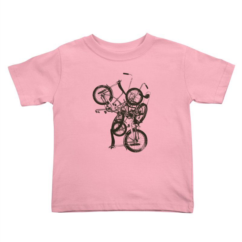 Bike Chaos | On Sale!   ➔ Kids Toddler T-Shirt by The Mindful Tee