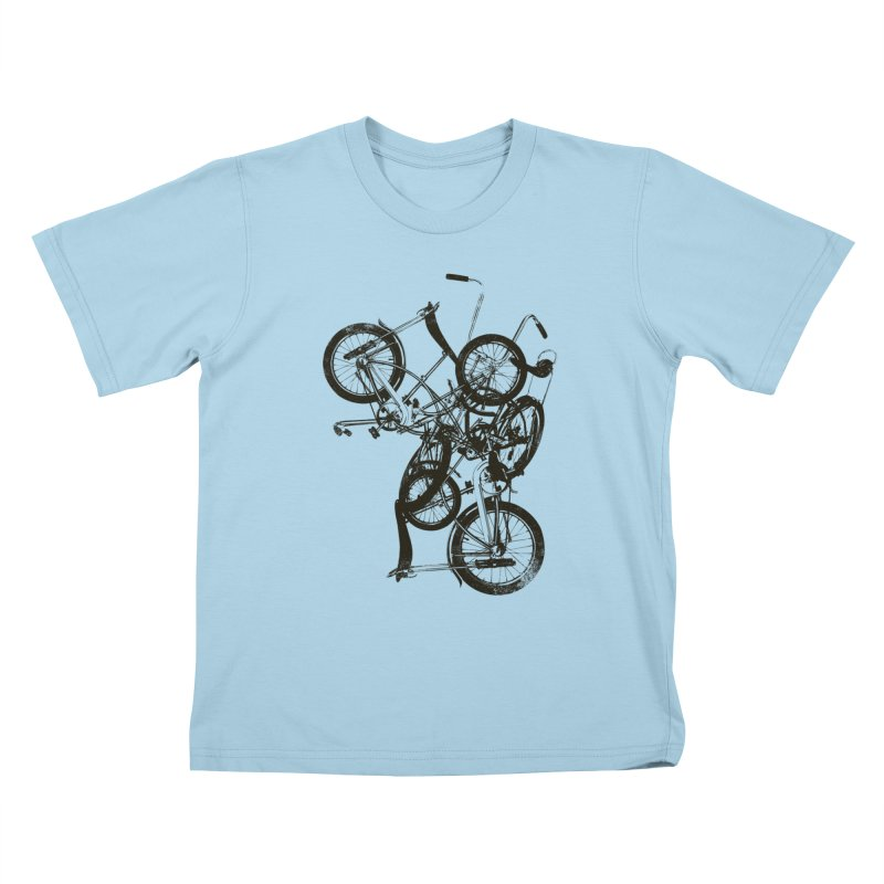 Bike Chaos | On Sale!   ➔ Kids T-shirt by The Mindful Tee