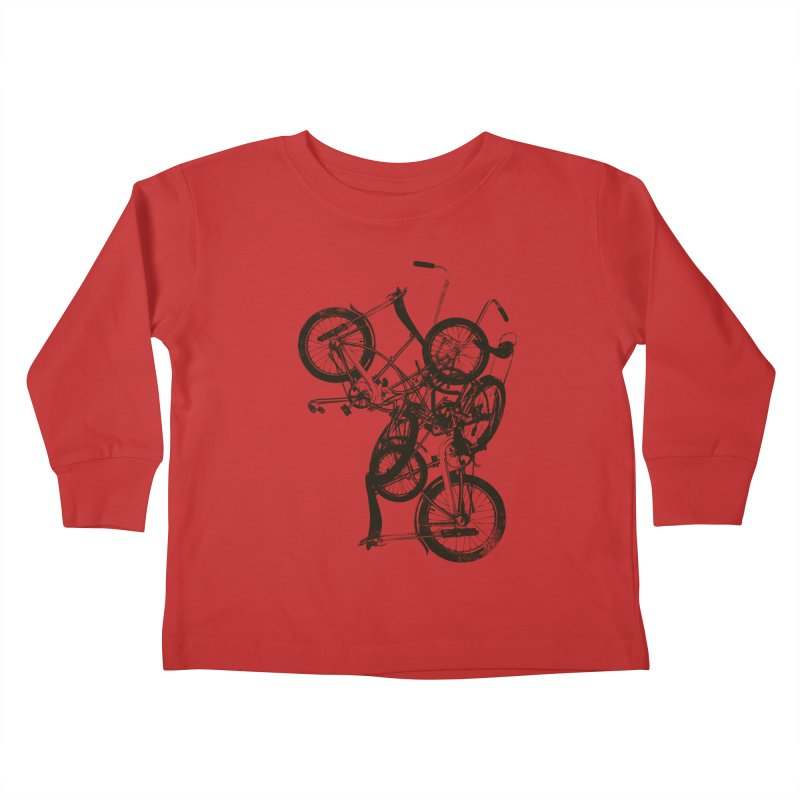 Bike Chaos | On Sale!   ➔ Kids Toddler Longsleeve T-Shirt by The Mindful Tee