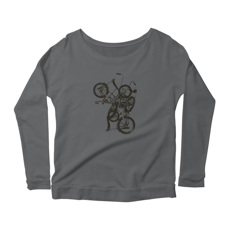 Bike Chaos | On Sale!   ➔ Women's Longsleeve T-Shirt by The Mindful Tee